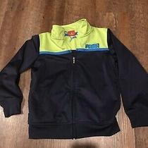 Boys Puma Kids Track Jacket Warm Up Size 5 Blue Yellow/green Zip Up Photo