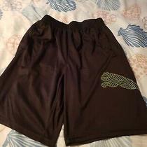Boys Puma Shorts Size M 10/12 Black Photo