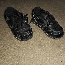 Boys Reebok Classic Black Athletic Shoes Size 6  Photo