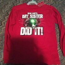 Boys Shirt Dear Santa My Sister Did It Photo