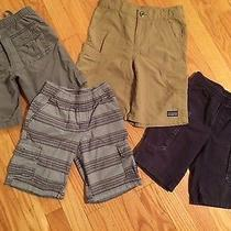 Boys Shorts Lot Size 5 5t- 4 Pairs Tea-Patagonia-Gap-Circo Photo