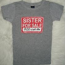 Boys Sister for Sale 1 or Best Offer T-Shirt  Size Small 4 - for a Brother Photo