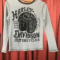 Boys Size 12/14 Harley Davidson Shirt Photo