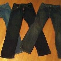 Boys Size 12 Jeans Levi Strauss Wrangler Skinny & Regular