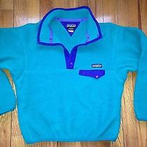 Boys Size 12 Patagonia Outdoor Fleece  Photo