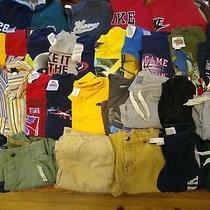 Boys - Size 5 - 33 Pc. - Sweatshirts Shirts Pants- Old Navy Gap Nike  Etc. Photo