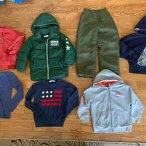 Boys Size 6-8 Clothing 7 Pieces Lot Tops Hoodie Jackets h&m Gap Photo