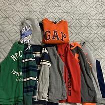 Boys Size 6 Long Sleeve Shirt Lot of 9 (Gap Under Armoire Ralph Lauren Etc) Photo
