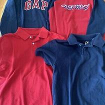 Boys Size Medium 8 Gap on Shirt Lot Photo