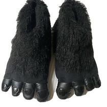 Boys Slippers Xl Size 3 4 Old Navy Gorilla Feet Black Photo