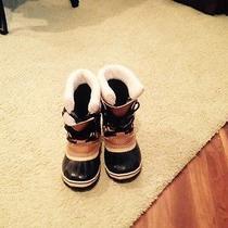 Boys Sorel Boots Size 1 Photo