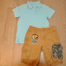 Boys Summer Outfit Gap Shorts Size 6 Years and h&m Polo Size 4-6years Photo