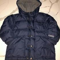 Boys Toddler Baby Gap Navy Puffer Winter Coat Toddler 3 Years 3t Photo