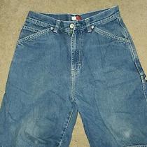 Boys Tommy Hilfiger Denim Jean Shorts Size 14 Photo