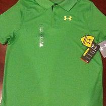 Boys Under Armour Heat Gear Golf Polo Nwt Size Yxl Photo