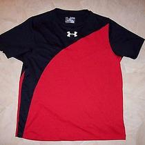 Boys Under Armour Heat Gear Loose Shirt  Sz Yxl  Photo