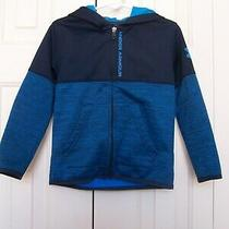 Boys Under Armour Spring Jacket With Hood Size 4-5 Photo
