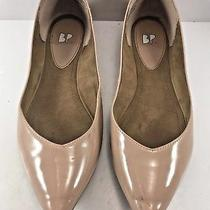 Bp Blush Faux Patent Leather Moveover Pointy Flats Womens Size Us 8m 0.99 Sale Photo