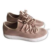 Bp Nordstrom Womens Blush Pink Platform Sneakers Size 8 Photo