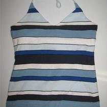 Bp Striped Tank Top Shelf Bra Juniors Xs Photo
