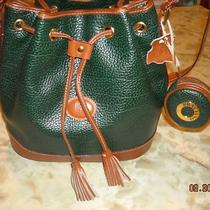 Braciano  Green Drawstring Crossbody Handbag With Key Holder Photo