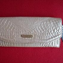 Brahmin Andie Fizz Melbourne Croc Embossed Leather Wallet New Photo