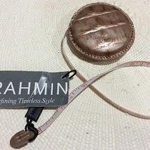 Brahmin Bronze and Copper Melbourne Leather Tape Measure (Rose Gold) Photo