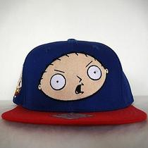 Brand New 100% Authentic Family Guy Stewie Griffin Snap Back Cap Hat Photo