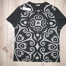 Brand New 100 % Authentic Versace Collection Men Black & Grey T-Shirt Size Xl Photo