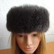 Brand New 3 Gray Grey Natural Opposum Fur Headband Hat Women Woman  Photo