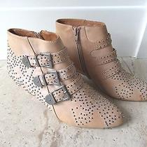 Brand New 348  Jeffrey Campbell Studded Starburst Ankle Boots Booties Sz 6.5  Photo