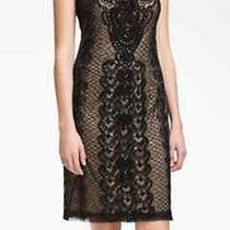 Brand New 350.00 Sue Wong Dress With Saprkling Beedwork & a Lace Overlay Photo