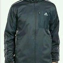 Brand New Adidas Drive 2 Jacket Full Zip Dark Onix / Tech Grey Gray  Xl Nwt Photo