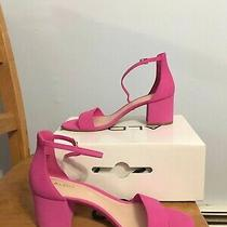 Brand New Aldo Villarosa Pink Block Heels 7.5 Nib Photo