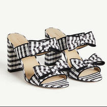 Brand New Ann Taylor Gingham Sandals Size 8 Photo