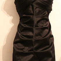 Brand New Arden B Women's Black Strapless Dress Size Xs Photo