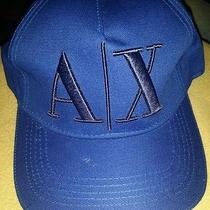 Brand New Armani Exchange A/x Men's Hat Cap Logo Photo