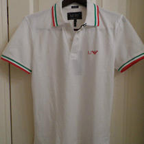 Brand New Armani Jeans Polo Shirt Size Medium - Free Shipping Photo