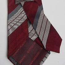 Brand New Armani Tie Silk & Wool New Photo