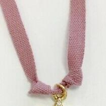 Brand New -Atsuyo Et Akiko Brand Star Necklace Rose Color Ribbon Signed Photo