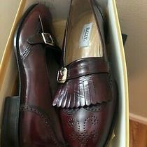 Brand New- Bally Men Dress Shoes/ Us 9.5 D Brown Loafer Photo