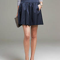 Brand New Banana Republic Shine Faille Full Skirt Photo