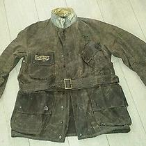 Brand New Barbour International Antique Bration  Jacket  Steve Mcqueen 515  Photo