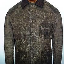 Brand New Barbour Warwick Insulated Leather & Waxed Cotton Jacket L 499 Photo