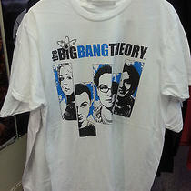 Brand New Big Bang Theory T-Shirt Size Large Tv Show Wear Geek Humor Wear Shirt Photo