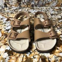 Brand New Birkenstock Roma Sandals Children Boy Girl Unisex 31 Us Size 13 Brown Photo