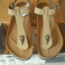 Brand New Birkenstocks From Germany - Kairo Birko-Flor/nubuck Sandal Photo
