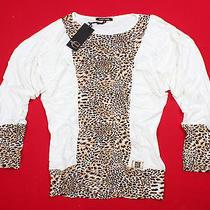 Brand New Blouse  Dress Roberto Cavalli Women's  Sz. 48(l) Photo