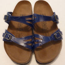 Brand New Blue Birkies Sandals 8 Photo