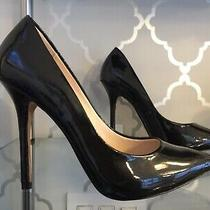 Brand New Boutique 9 Sally Dark Gray Patent Leather Pumps Shoes Size 8 1/2 Photo